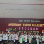 Students of Isaac Abalayan Elementary School during their presentation