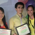 (L-R) Mrs. Jocelyn Yunting  (Highest Purchaser), Sir Reher Ybanez (Guest Speaker) and Dok Beth Tabada, DMNH Digos