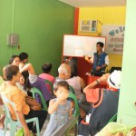 Mr. Rehere Ybañez during the Livelihood Lecture