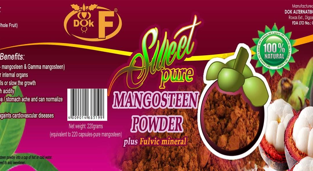 Mangosteen Power Powder