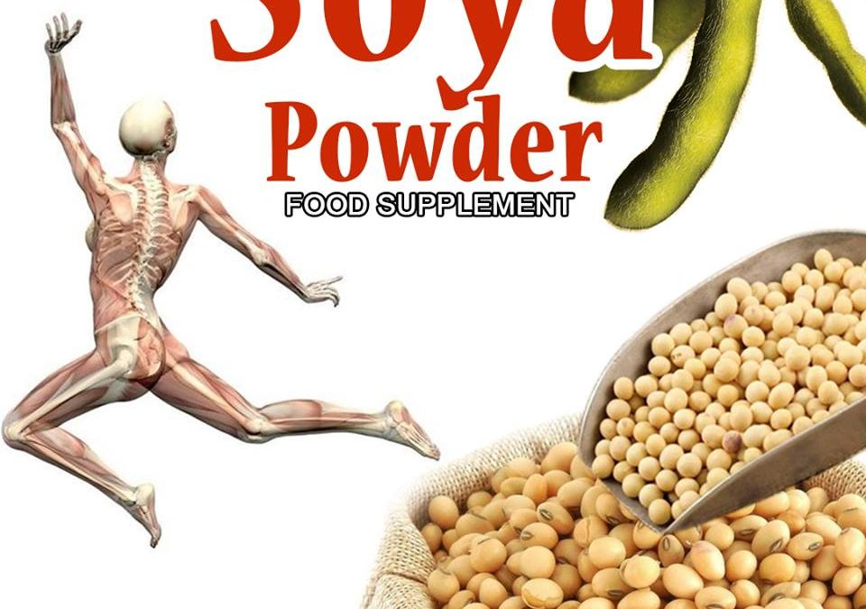 CALCIUM SA MALUSOG NA COLON: SOYA POWDER