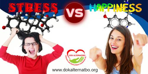 Stress vs Happiness: Death or Life?