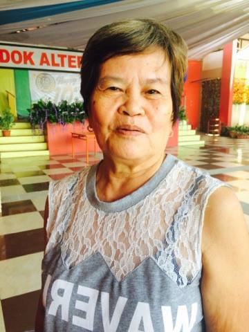 """There is health and wealth in Dok Alternatibo"" -Josefa Isla"