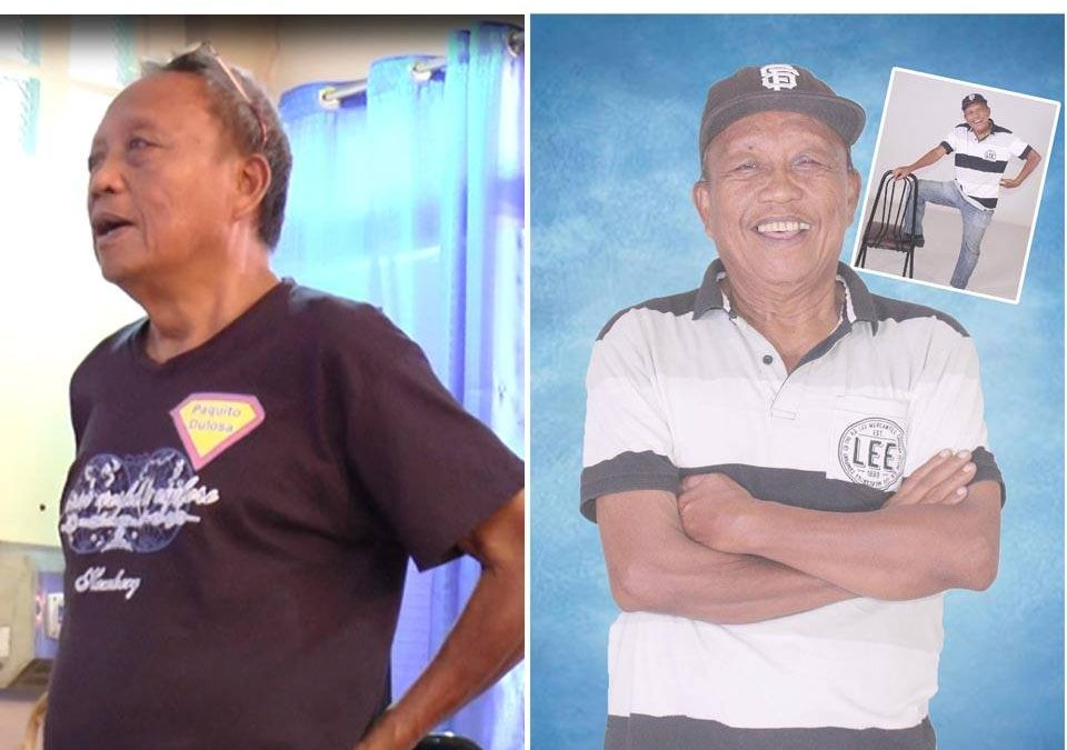 Paquito Doloso, 70 years old retired teacher from Leyte