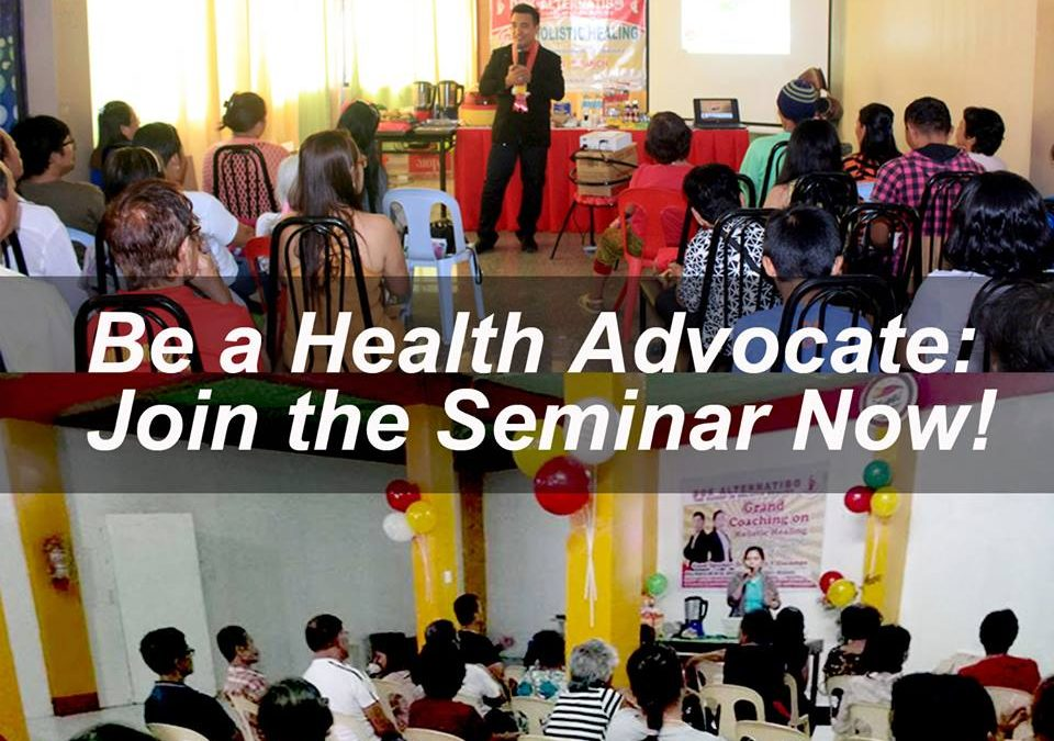 Be a Health Advocate: Join the Seminar Now!