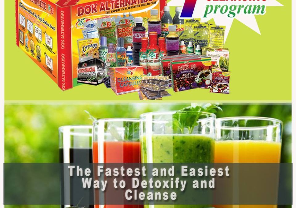 The Fastest and Easiest Way to Detoxify and Cleanse